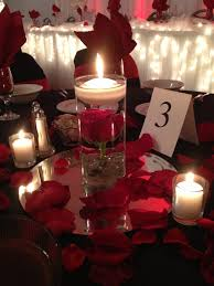 wedding decorations with red roses 2889