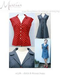 s blouse patterns mariadenmark 402 edith blouse dress