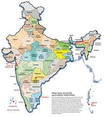 The 50 States Map by India 2040 Hypothetical 50 States Of India