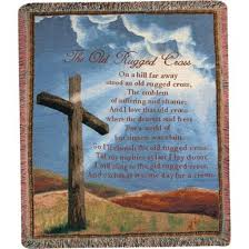 That Old Rugged Cross The Old Rugged Cross Tapestry Throw Whole Sale Flowers Pittsburgh