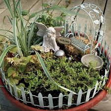 new fairy container garden accessory kit set yard decor plants