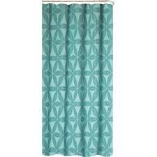 Blue Gingham Shower Curtain Modern Shower Curtains Allmodern