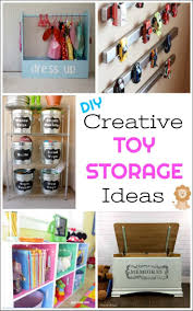 kid toy storage creative diy toy storage ideas by just the woods