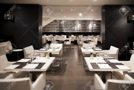wine in interior of modern restaurant stock photo picture and