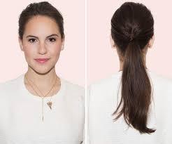 Frisuren Lange Haare Pferdeschwanz by Look In 5 Minuten 6 Notfall Frisuren Für Ungewaschene Haare