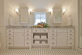 filedstone white shaker vanity provincetown ma traditional