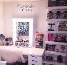 Bedroom Makeup Vanity 23 Diy Makeup Room Ideas Organizer Storage And Decorating