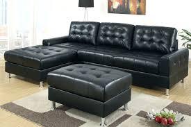 Leather Tufted Sectional Sofa Leather Sofa Black Leather Tufted Sleeper Sofa Black Tufted