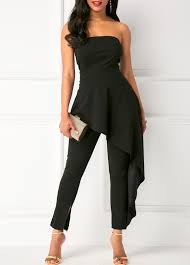 jumpsuits black black jumpsuits rompers for shop free shipping