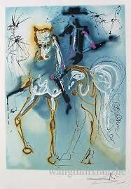 the equine paintings of salvador dali u2013 the flying shetlands