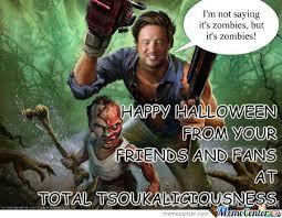 Evil Dead Meme - evil dead halloween wishes by jaydeeslaydee meme center