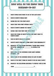 bridal shower question how well does the the groom buy at