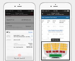 ticketmaster floor plan apple pay website updated to suggest some partners may not make