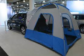 jeep compass tent happy glampers custom bed tent now available for honda ridgeline