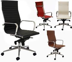 modern classic high back office chair in stock free shipping