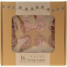 rose gold tone indoor string lights tk maxx lights pinterest