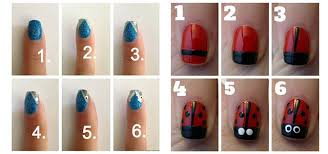 easy nail art characters 15 easy nail art tutorials for beginners learners 2014 fabulous
