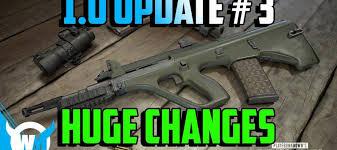 pubg 8x m16 pubg 1 0 update 3 new weapons killcam optimization new ui