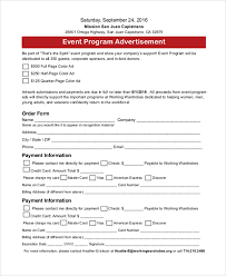 sample event program template 38 free documents in pdf