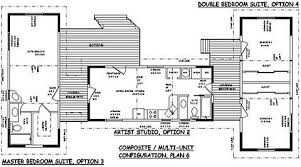 floor plans with guest house carriage house plans small cottage house plans studio