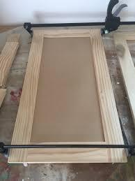 Make Cabinet Door by How To Build Cabinet Doors Like A Boss Honeybear Lane