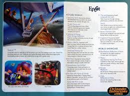universal halloween horror nights map 2011 walt disney world vacation brochure let the memories begin