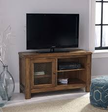 Tv Unit Furniture Tamonie Rustic Brown Tv Stand With Fireplace Option W830 18
