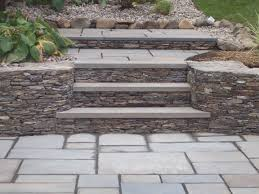Bluestone For Patio by Bluestone Steps Patio And Wall Supreme Landscaping 860 777 5848