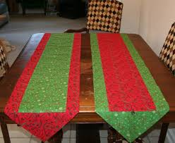 how to make a one hour table runner easy and sewing projects
