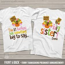 thanksgiving shirt turkey big announcement t shirt