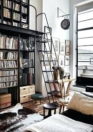 wall library bookcase bookcases with ladder medium size of library
