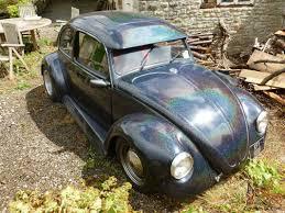 volkswagen bug black 1968 volkswagen 1300 beetle black sparkle