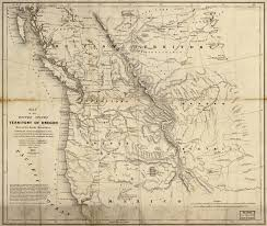 Maps Oregon by Doc Butler U0027s U S History Website For Students Maps For Hist1301