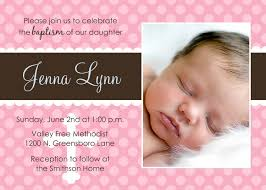 Invitation Card For 1st Birthday Appealing Sample Christening Invitation Card 96 For Inviting Cards