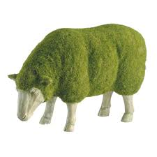 Elephant Topiary Moss Lamb Using The Technique Of Blending Moss And Spritzing A