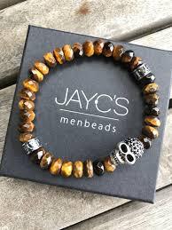 bracelet men skull images Jayc 39 s bracelet men skull drilled skull jayc 39 s menbeads men 39 s jpg
