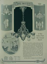 1934 sears antique lighting catalog page 21 loosely art deco