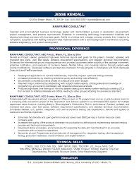 Technology Skills Resume Examples Example Consulting Resume Resume For Your Job Application