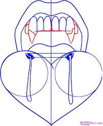 how to draw vampire teeth step by step vampires monsters free