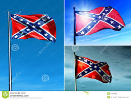 Rebel Flags Images Confederate Flag Waving On The Wind Stock Illustration