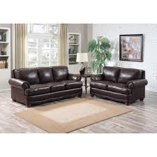 Leather Sofa Italian Shoreline Chocolate Italian Leather Sofa And Loveseat Free