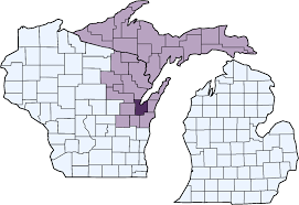 Michigan Upper Peninsula Map by Families Of Children With Cancer