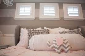 baby nursery outstanding pink and gray bedroom interior design