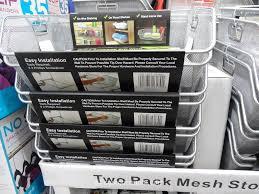 sliding wire mesh storage bins