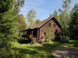 charming year around log chalet home with 2 bedrooms plus loft