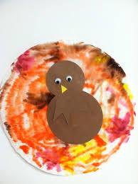 preschool fall crafts coffee filter turkey craft for 3
