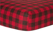 Flannel Crib Bedding Trend Lab Northwoods From Buy Buy Baby