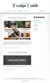 this girls design guide boutique web design blog designs