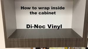 Kitchen Cabinet Wraps by 3m Di Noc How To Vinyl Wrap Inside Shelves Rmwraps Com Youtube