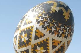 ukrainian easter egg pysanka the ukrainian easter egg in the world was